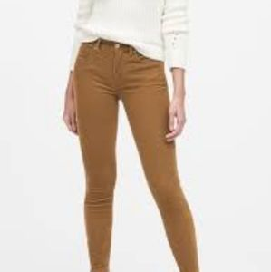 Banana Republic Light Tan Skinny Cords